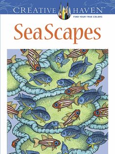 Thirty-one drawings of moon jellyfish, sea dragons, blue sharks, manatees, blue whales, and other sea creatures combine to create picture-perfect allover patterns. Perforated pages for easy removal and display. Previously published as  SeaScapes .