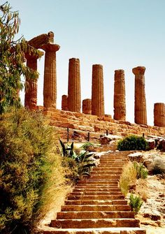 The Temple of Hera and Juno Lacinia, Agrigento - Sicily
