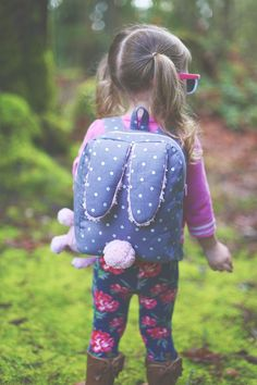 Free toddler backpack pattern with instructions online | SewMuchaDo.com