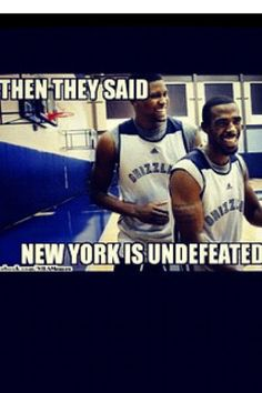 Memphis grizzlies 2012 (I know Rudy is no longer a Grizz but still funny...cause I love Mike Conley!!)