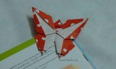 蝶ちょ : 【折り紙】ブックマーク・しおりの折り方、作り方まとめ【ペーパークラフト】 - NAVER まとめ