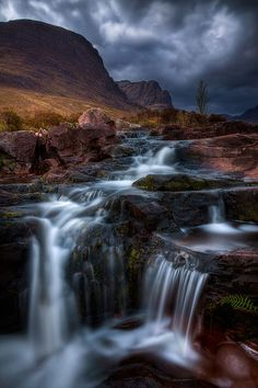 This is a fantastic example of good HDR photography.    Applecross by PhotosEcosse / photosecosse.com