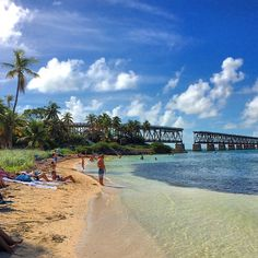 Bahia Honda State Park, Florida Keys. Photo courtesy of billnes on Instagram.