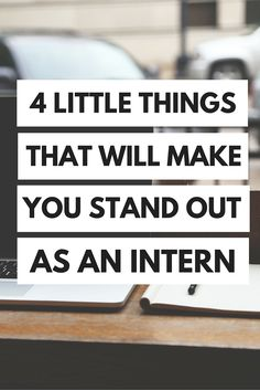 Entering the world of internships can be absolutely terrifying- the applying and interviewing stages are stressful enough, and then you're thrown into a new company with dozens of employees ...