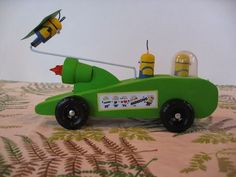 Minion Pinewood Derby Car | Scouts | Pinterest