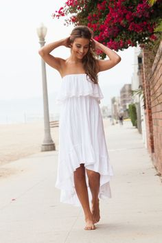 Beachy White Dresses