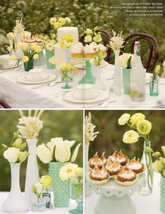 St. Patricks day tablescape