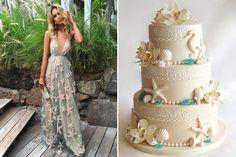 Da clutch à decoração, do vestido à lembrancinha, inspire-se com as ideias lindas para a festa de 15 anos com o tema fundo do mar!