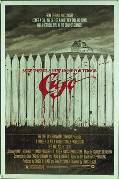 The American movie poster for Cujo, based on the Stephen King novel.