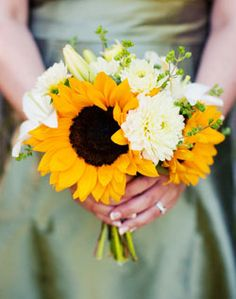sunflower bouquet...if I didn't already have mine made