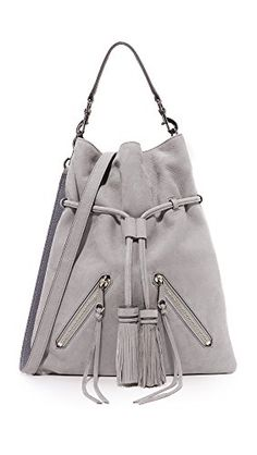 f52f5a3a46 Amazon.com  Rebecca Minkoff Women s Large Moto Drawstring Bag