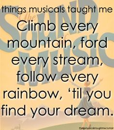 Sounds so inspiring when I just read it, not sing it.