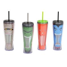 How cool are these Halloween Scream Tumblers!?   Kirklands #kirklandshalloween #kirklands