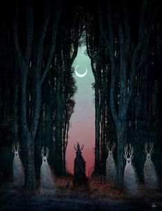 Ånden Som Gjorde Opprør... Dark Fantasy, Fantasy Art, White Magic, Creepy Art, Horror Art, Dark Art, Communion, Art Blog, Digital Illustration