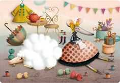 French illustrator Marie Desbons - CUTE stuff!