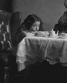 Tea Little Girl