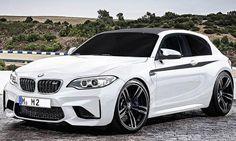 """BMW M2 Shooting Brake - Unverkennbar ein BMW M2, aber auch unverkennbar die langgestreckte Silhouette eines Shooting Brake. Angesichts dieser Skizzen von Momoyak Design werden Erinnerungen an den """"Turnschuh"""" wach, wie Kritiker das um die Jahrtausendwende"""