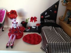 Diy Chambre Operetta Monster High, Operetta bedroom