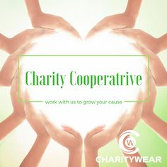 Sharing is caring, Help your charity reach grow with the 'Charitywear Charity Cooperative! Visit https://mycharitywear.com/charity-cooperative/ to learn more!