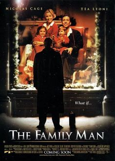 The Family Man (2000) Directed by #BrettRatner Starring #NicolasCage #TeaLeoni #JeremyPiven #SaulRubinek #DonCheadle #TheFamilyMan #Hollywood #hollywood #picture #video #film #movie #cinema #epic #story #cine #films #theater #filming #opera #cinematic #flick #flicks #movies #moviemaking #movieposter #movielover #movieworld #movielovers #movienews #movieclips #moviemakers #animation #drama #filmmaking #cinematography #filmmaker #moviescene #documentary #screen #screenplay Tea Leoni, Nicolas Cage, Man Movies, Movies To Watch, Funny Movies, Jeremy Piven, The Grinch, Bon Film, Bad Santa