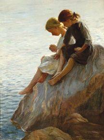 Art-Adam Emory Albright painting