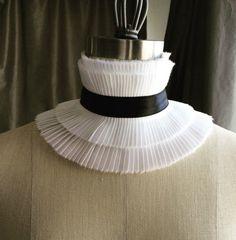 New Couture choker ruff/Ruffle choker// High neck choker/ sexy