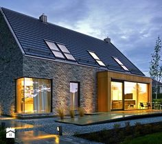 Domy, styl nowoczesny - zdjęcie od DOMY Z WIZJĄ - nowoczesne projekty domów