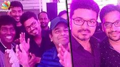 Vijay hosts Mersal Success Party in his home | Latest Tamil Cinema News | Thalapathy | lodynt.com |لودي نت فيديو شير