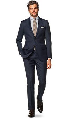 Suit Navy Plain Lazio P2778la | Suitsupply Online Store