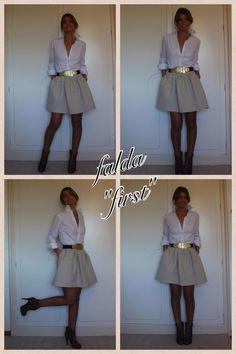 falda con bolsillos by kelly