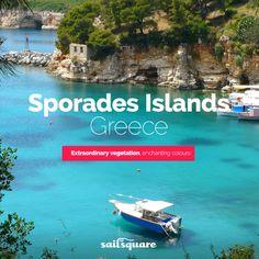 #Sporades islands #Greece #sailing  www.sailsquare.com