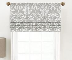 New French Door Shades Curtain Rods Ideas Blinds For Windows, Curtains With Blinds, Valances, Bedroom Blinds, Diy Curtains, Patio Door Valance Ideas, Hollywood Regency, White Valance, Door Shades