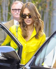 Jessica Alba wears Karen Walker Eyewear - available online at Sisters & Co www.sistersboutique.co.nz
