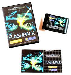 Sega Mega Drive Spiel Flashback in OVP