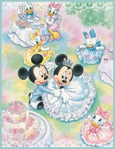 Mickey & Minnie - Wedding Reception