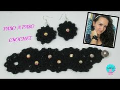 Hazlo Tu Misma: Gargantilla a Crochet DIY HOW TO CROCHET A CHOKER - YouTube