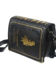 Japanese Lolita Alice book purse... This needs to be mine in the near future!