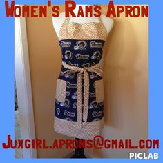 Follow on Instagram at juxgirl.aprons  This apron is for sale and ready to be mailed out!!
