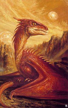 Bob Eggleton | bob-eggleton The Pit Dragon                              …