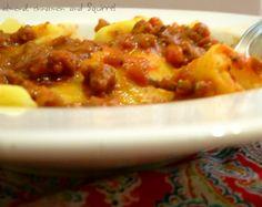 I ravioli di patate con ragù di soia di Alessandra