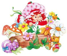 Strawberry Shortcake - the doll, not dessert!