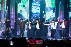BTS @ 150507 Mnet Countdown