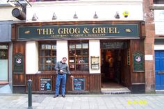 The Grog & Gruel - made some great friends, including a dog!