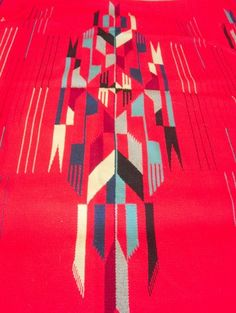 Classic Chimayo Weaving 1950's