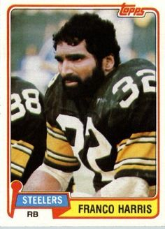 Franco Harris 1981 Topps Football Card 220 - Pittsburgh Steelers Football Card - In Protective Screwdown Display... ** More info could be found at the image url.
