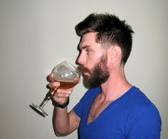 Classic Hairstyles Made Modern – With Beard; Two Ways