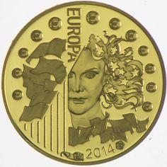 5 Euro Gold Europa 2014: Europäische Weltraumorganisation PP