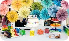 ezra, candice, avery & greyson: Avery & Lorenzo's Rainbow Party