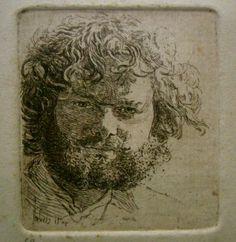 Andreas Vanpoucke - Self portrait 1983