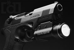 Streamlight TLR-1s mounted on the Beretta PX4 Storm Type F